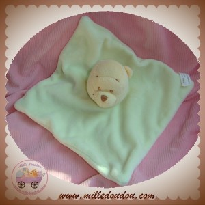 DISNEY SOS DOUDOU OURS WINNIE L'OURSON PLAT VERT CARREFOUR