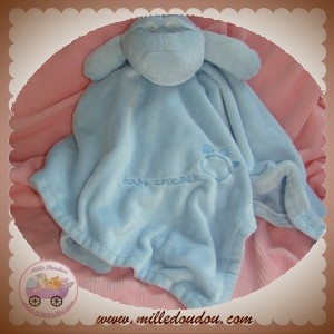 EARLY DAYS SOS DOUDOU CROCODILE PLAT BLEU