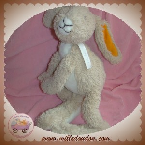 HAPPY HORSE SOS DOUDOU LAPIN BEIGE ORANGE