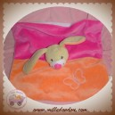 DOU KIDOU SOS DOUDOU CHIEN LAPIN BEIGE PLAT ROSE ORANGE PAPILLON