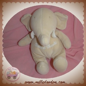 TARTINE ET CHOCOLAT SOS DOUDOU ELEPHANT BEIGE
