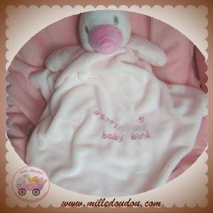 PRIMARK EARLY DAYS SOS DOUDOU CANARD PLAT ROSE PRETTY BABY GIRL