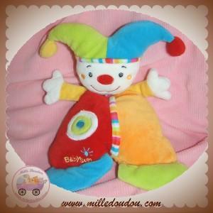 BABYSUN BABY SUN SOS DOUDOU LUTIN CLOWN QUASI PLAT ROUGE ORANGE ROND