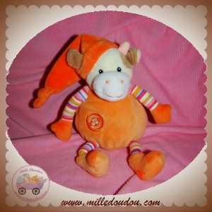 GIPSY DOUDOU VACHE ECRU MUSICAL HS ORANGE SOS