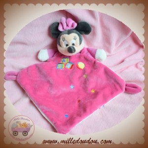 DISNEY SOS DOUDOU MNNIE SOURIS PLAT ROSE ABC