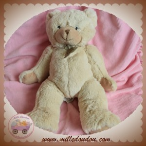 HISTOIRE D'OURS SOS DOUDOU OURS BEIGE CALIN'OURS HO1158
