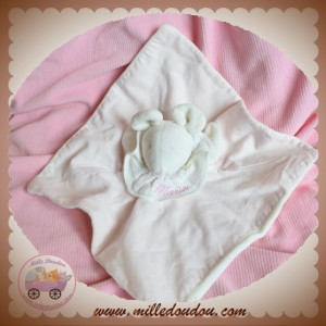 MOULIN ROTY SOS DOUDOU SOURIS BLANCHE PLAT ROSE