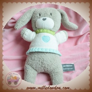 ORCHESTRA SOS DOUDOU LAPIN GRIS PULL TRICOT  MUSICAL