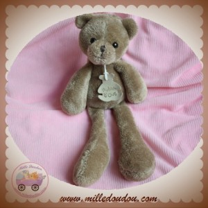 HISTOIRE D'OURS SOS DOUDOU OURS MARRON CLAIR SWEETY HO2144