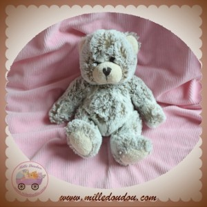 SOFT FRIENDS LGRI SOS DOUDOU OURS CHINE MARRON ASSIS
