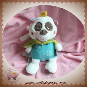BABYSUN BABY SUN SOS DOUDOU PANDA BLANC VERT MUSICAL JUNGLE HEROES