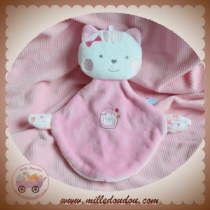 SUCRE D'ORGE SOS DOUDOU OURS PLAT ROSE CHAT