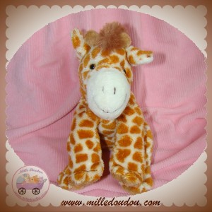 SOFT FRIENDS LGRI SOS DOUDOU GIRAFE TACHETE MARRON