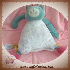 MOULIN ROTY SOS DOUDOU CHAT CHACHA GRIS POILS VERT LES PACHATS MUSICAL