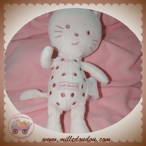 GRAIN DE BLE SOS DOUDOU CHAT ROSE MY LITTLE FRIENDS