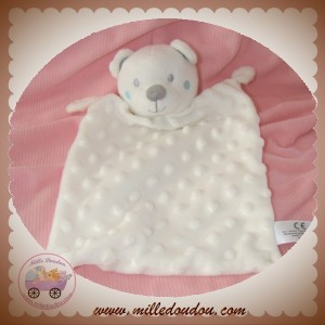 NICOTOY SOS DOUDOU OURS BLANC PLAT RELIEF