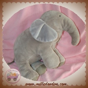 JACADI SOS DOUDOU ELEPHANT GRIS 25 cm