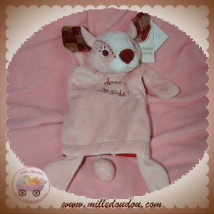 HAPPY HORSE SOS DOUDOU FAON MARIONNETTE ROSE DEER OUTSIDE