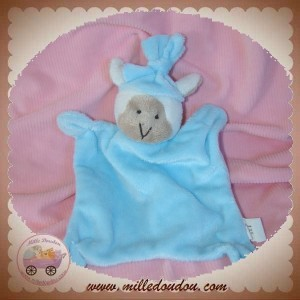 CARTOON CLUB SOS DOUDOU MOUTON BLANC PLAT BLEU