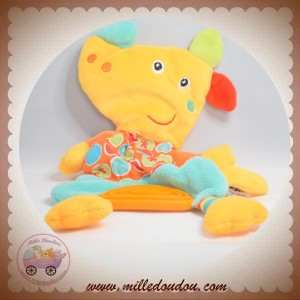 BABYSUN BABY SUN SOS DOUDOU CHIEN JAUNE ORANGE COEUR DENTITION