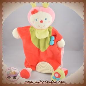 BABYSUN BABY SUN SOS DOUDOU COCCINELLE MARIONNETTE ROSE ARROSOIR DENTITION
