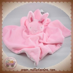 PRIMARK EARLY DAYS SOS DOUDOU LAPIN PLAT ROSE