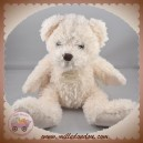 HISTOIRE D'OURS SOS DOUDOU OURS CHINE ECRU BLANC HO2613