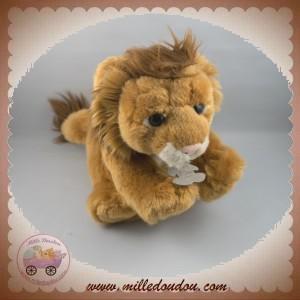 HISTOIRE D'OURS DOUDOU LION MARRON CRINIERE