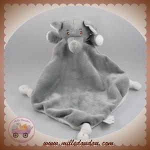 BEBE CONFORT SOS DOUDOU ELEPHANT PLAT BLANC GRIS