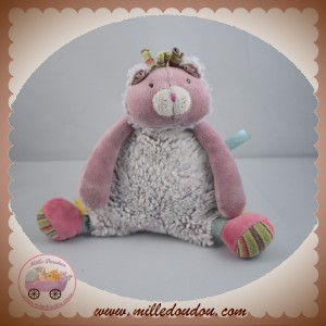 MOULIN ROTY SOS DOUDOU CHAT MINOUCHA LES PACHATS VIOLET CORPS CHINE