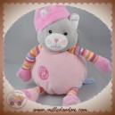 GIPSY SOS DOUDOU CHAT GRIS CORPS ROSE MUSIQUE BRAS RAYE