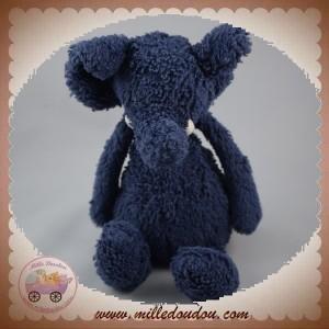 JELLYCAT SOS DOUDOU ELEPHANT BLEU 18 CM