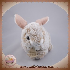 HISTOIRE D'OURS SOS DOUDOU LAPIN BLANC CHINE CLAIR FONCE HO2140