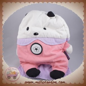 SERGENT MAJOR SOS DOUDOU SOURIS OURS BLANC ROSE CAPE VIOLET RANGE PYJAMA