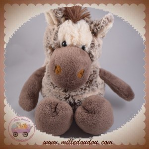 HISTOIRE D'OURS SOS DOUDOU CHEVAL MARRON CHINE FUNNY HO2142