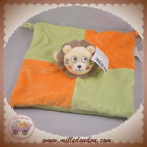 KIMBALOO SOS DOUDOU LION JAUNE PLAT ORANGE VERT