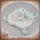 BABYNAT BABY NAT SOS DOUDOU OURS GRIS PLAT BLANC VERT EAU BN0168