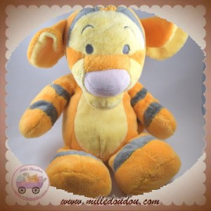 DISNEY SOS DOUDOU TIGROU ORANGE JAUNE TRUFFE ROSE PASTEL