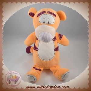 DISNEY SOS DOUDOU TIGROU ORANGE RAYE BORDEAU