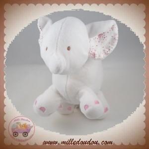IDEAL PROMOTION SOS DOUDOU ELEPHANT BLANC ROSE