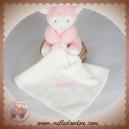 BABYNAT BABY NAT SOS DOUDOU MOUTON MOUCHOIR ROSE