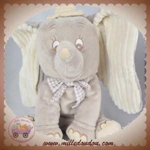 NICOTOY SOS DOUDOU ELEPHANT DUMBO GRIS 30 cm DISNEY