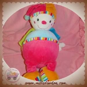 BABYSUN BABY SUN DOUDOU LUTIN CLOWN BLEU ROSE VERT MULTICOLOR 33