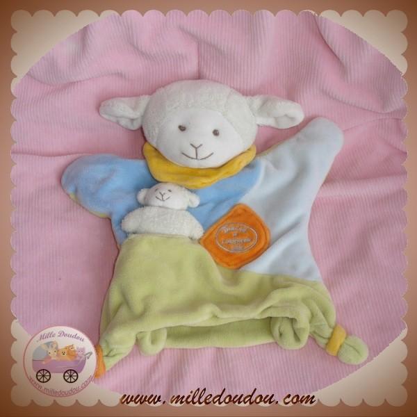 doudou et compagnie peluche simon le petit mouton marionnette. Black Bedroom Furniture Sets. Home Design Ideas
