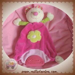 BABYSUN BABY SUN DOUDOU SOURIS BLANCHE ROSE FLEUR GARDEN SOS