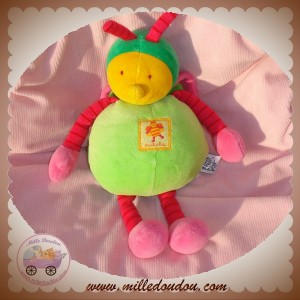 MOULIN ROTY DOUDOU ABEILLE LOUNA FLORIMOND VERTE ROSE ORANGE 28